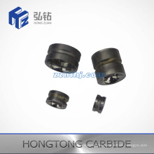 Various Size and Shape of Solid Cemented Carbide Wire Guide Wheel