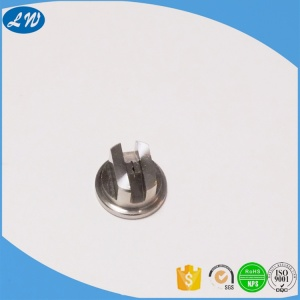 customized CNC micro machining Stainless steel spray nozzle