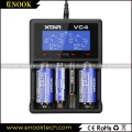 Xtar VC4 USB Charger for Lithium/Ni-MH Battery