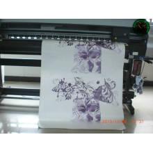 papier imprimé de transfert de chaleur multi rose pour les vêtements de mode