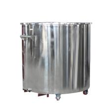 Homogeneizador de alta presión con tanque de mezcla de acero inoxidable