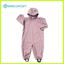Rum-024 Cute 100%PU Child′s Coverall