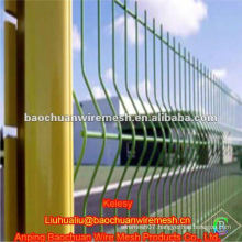 Welded bent green triangle bending guardrail (Manufacture)