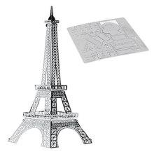 DIY блоки Эйфелева башня 3D головоломка игрушки