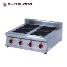 Avec bon prix industrielle commerciale Restaurant équipement cuisinière à gaz Comptoir Wok & poêle