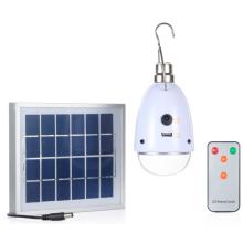 Luz solar portátil de la clase 3 de la iluminación LED para el área rural