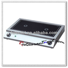 K156 Kommerzielle Tischplatte Elektroherd