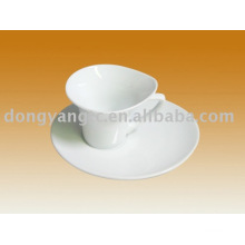 Factory direct wholesale porcelain cup and plate