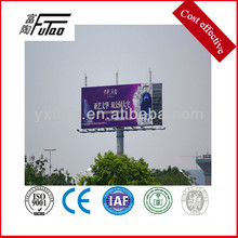 galvanized billboard