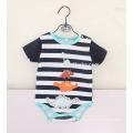 Combinaison mignonne et colorée imprimé barboteuse bébé nouveau-né
