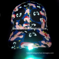 2016 Hot selling LED baseball cap with LED light on the visor