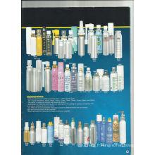 Série de bouteille en aluminium pour l'emballage de parfum