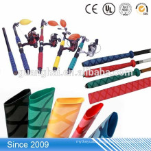 PE material single wall fishing gear tackle covered non slip heat shrink tube