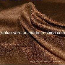 Tissu en daim imperméable pour meubles fabriqués en Chine