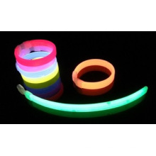 Glow in the dark neon color wristband