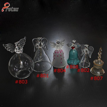Different Designs Decorative Handing Glass Bell
