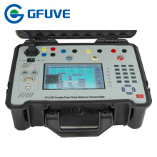 Three phase portable multifunction calibrator