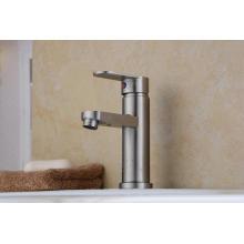 Robinet de lavabo à une seule main en acier inoxydable 304 (HS15002)