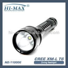 Lampe de plongée de plongée sous marine / torche de plongée / lampe de plongée