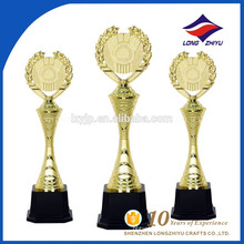 Подгонять стильный металлический трофей с пользовательской базой трофей