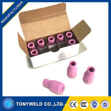 welding lave nozzle 13N08 ceramic nozzle for WP9/WP20 TIG Torch