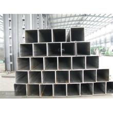 Tubería de acero de sección cuadrada ASTM A106 200 mm