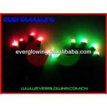 Горячая распродажа Хэллоуин Светящиеся перчатки вспышки