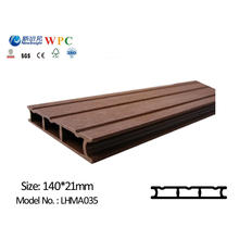 High Quality WPC Wall Panel for Outdoor Use Wall Cladding Covering WPC Plank with CE SGS Fsc ISO Lhma 035