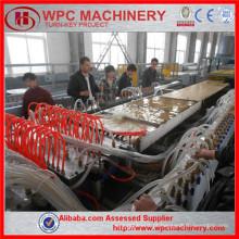 Máquina de plástico de madeira Máquina de fazer portas WPC