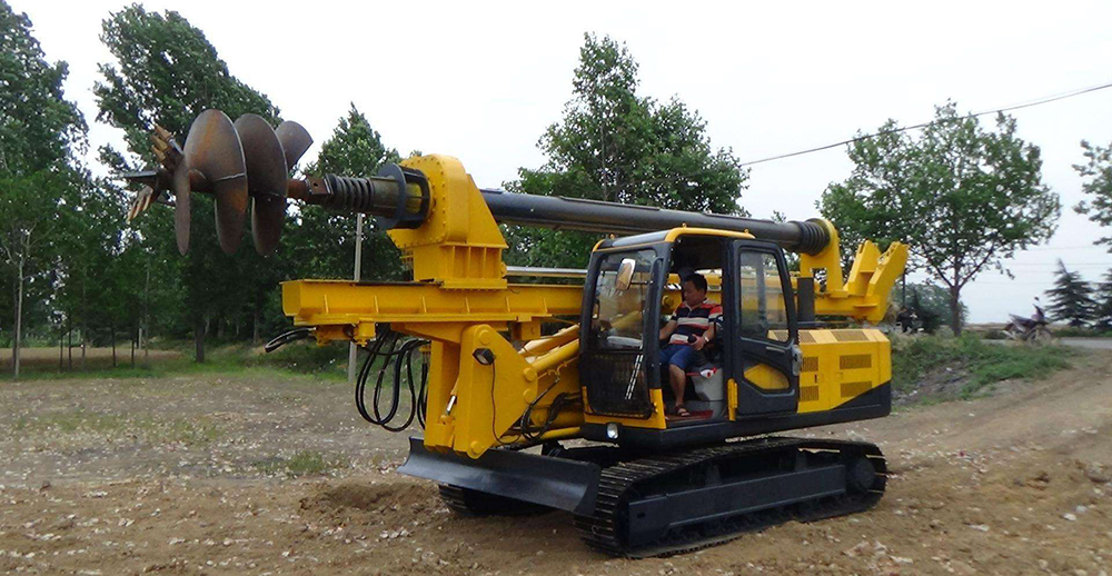 Rotary Drilling Rig Machine