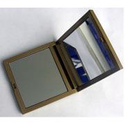 cuadrado de espejo compacto plástico ABS