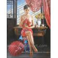 Chine Peinture en peinture à nu