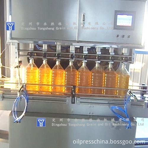 plant oil filling Machine