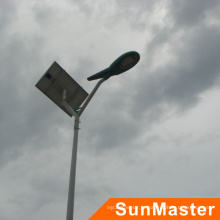 Luz de rua solar integrada alta do diodo emissor de luz de 6m polo 25W com todos os acessórios