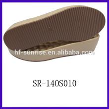 SR-14OS010 italian pu sole manufacturers ladies pu sole wedge shoes pu sole