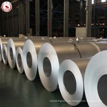 0,45 milímetros de espessura 914 mm de largura impressão anti dedo para telha de telhado metálico aplicada Aluzinc revestido bobina de aço
