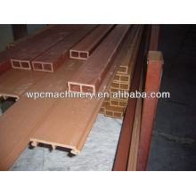 Wood+plastic WPC decking machine/Wood plastic composition WPC machine/ wood plastic machine