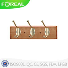 Wall Mounted Foldable Wooden Clothes Hooks