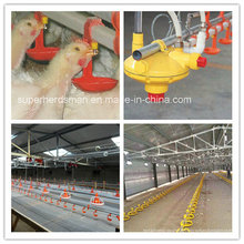Équipement potable de mamelon de volaille pour la maison de ferme de volaille
