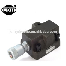 safety relief hydraulic pressure control valve