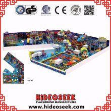 Space Theme Children Indoor Playground with Ball Pit