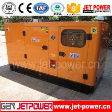 Alimentation d'énergie diesel électrique insonorisée de 100kw
