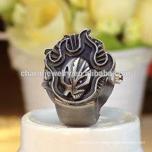 El reloj animal del anillo de dedo de la mejor calidad de la nueva llegada para los hombres vende al por mayor 2016 JZB017