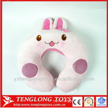 wholesale U shape pillow plush music travel pillow