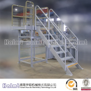 Special Aluminium Platform Step Ladder with Safety Chain