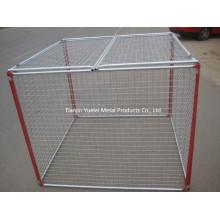 Chenil pour chien en Chine, Maison pour animaux de compagnie, Cage pour animaux portables / Cage de chien de bonne qualité Vente en gros / Meilleure vente Beauté et cage de chien durable
