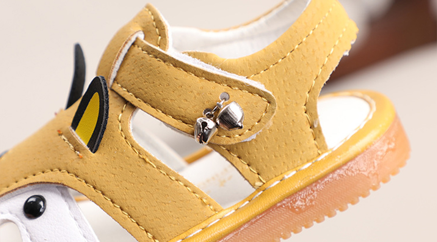 Details of baby shoes