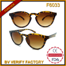F6033 Italy Design Custom Logo Sunglasses, Cat Eye Sunglass for Ladies