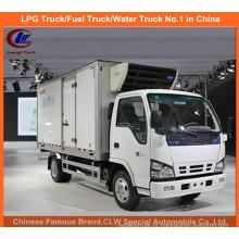 Isuzu Caminhão Refrigerado em 5 Toneladas Freezer Van Truck Themoking