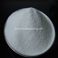 White sodium benzoate powder